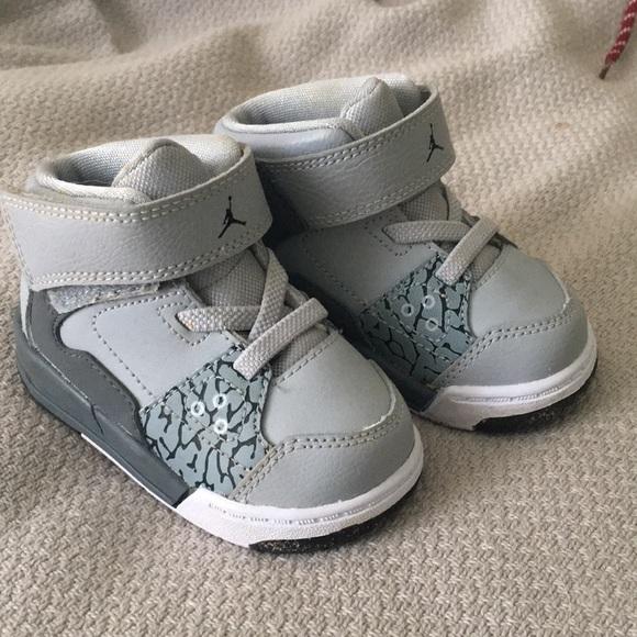 Nike Shoes | Grey Baby Nike Jordans